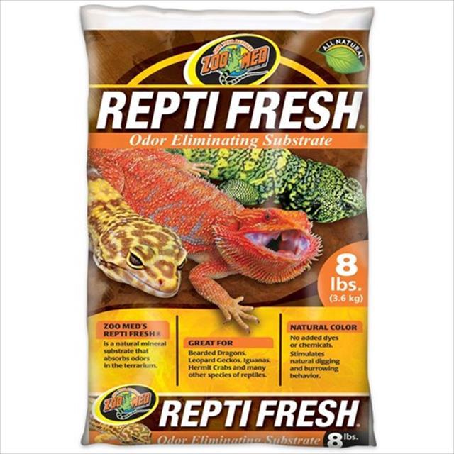 substrato para terrário zoomed eliminador de odores repti fresh - 3,6 kg