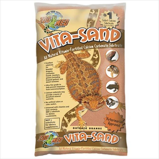 substrato para terrário zoomed vita-sand outback orange - 2,25kg