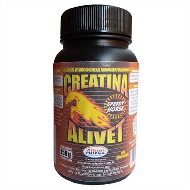 suplemento alivet creatina speedy horse - 500 g