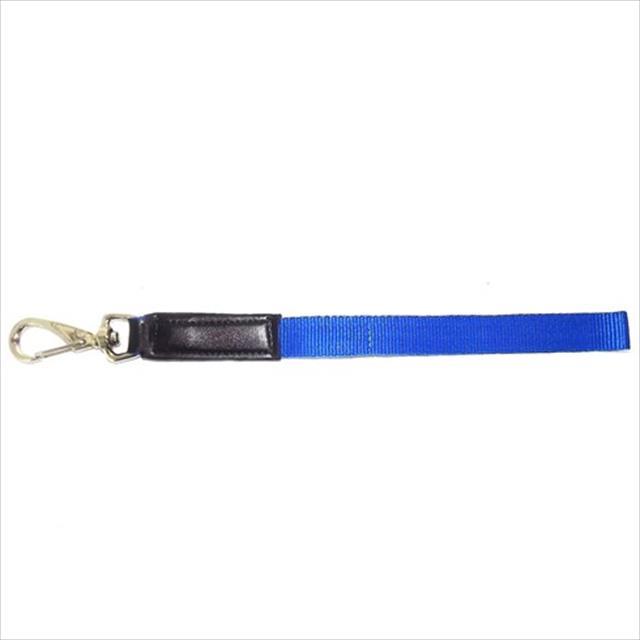 guia adestramento de algodão furacão pet - azul guia adestramento de algodão azul - 60cm x 25mm