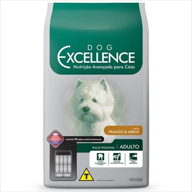 ração selecta dog excellence para cães filhotes de raças pequenas - frango e arroz ração selecta dog excellence para cães filhotes de raças pequenas frango e arroz - 10,1 kg