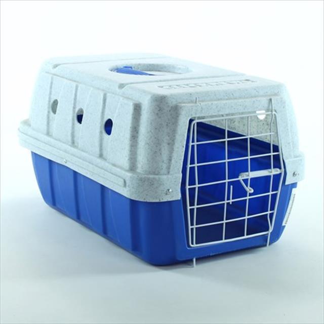 caixa de transporte clicknew - azul com mármore caixa de transporte clicknew azul com mármore - n. 01