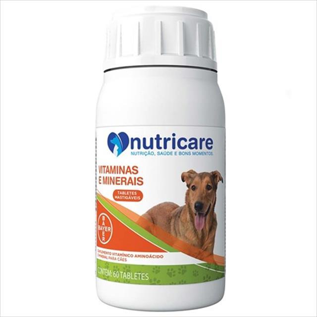 suplemento bayer nutricare vitaminas e minerais com 60 tabletes - 132 gr