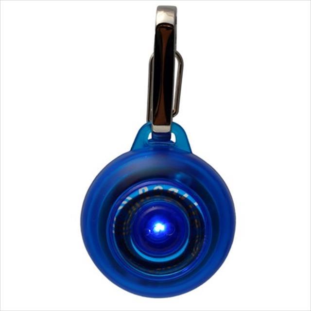 pingente rogz luminoso - azul