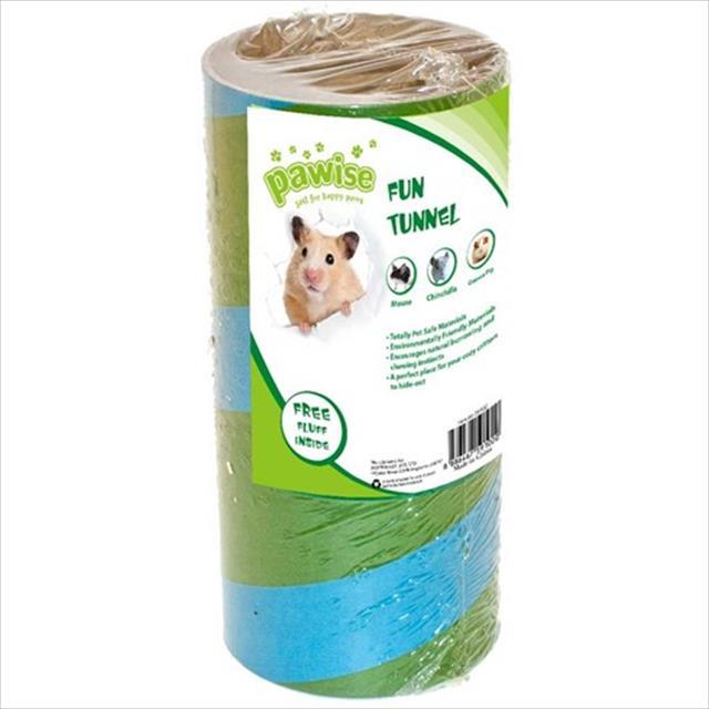 túnel pawise com cama para roedores - verde túnel pawise com cama para roedores verde - tam. p