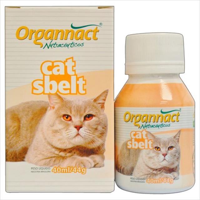 organnact cat sbelt diminuição de peso dos gatos organnact cat sbelt - 40ml