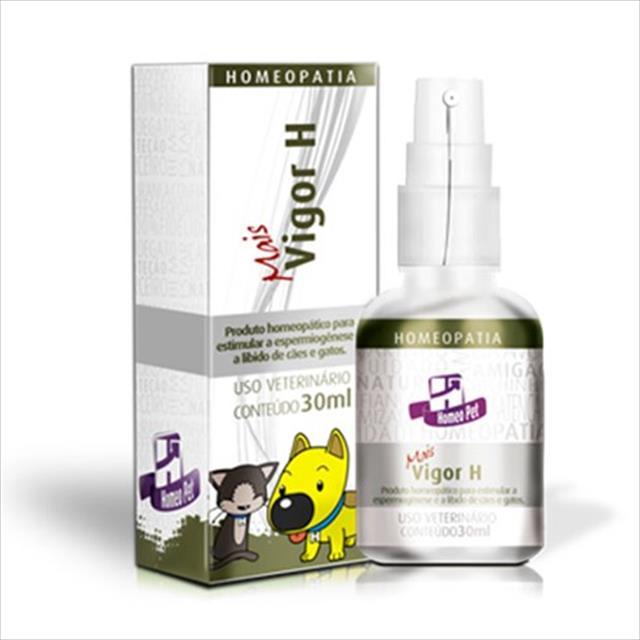 sistema de terapia homeopet estímulo de reprodução mais vigor h - 30ml