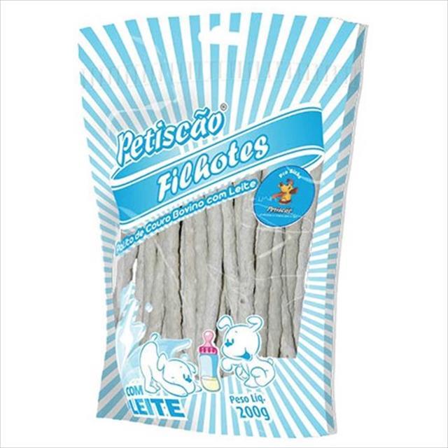 palito de leite petiscão fino 8mm - 200 g