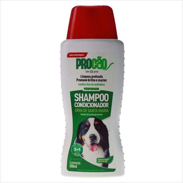 shampoo e condicionador procão erva de santa maria - 500 ml