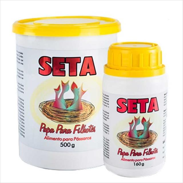alimento seta papa para filhotes - 500 gr