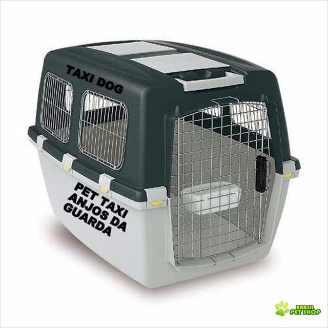 t�xi dog anjos da guarda transporte de animais de estima��o.