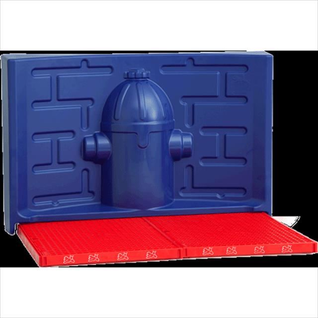 kit pipidollys para machos - vermelho com hidrante azul