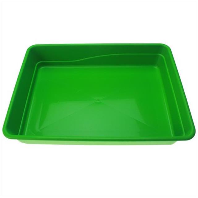 bandeja de areia baw waw para gatos - verde
