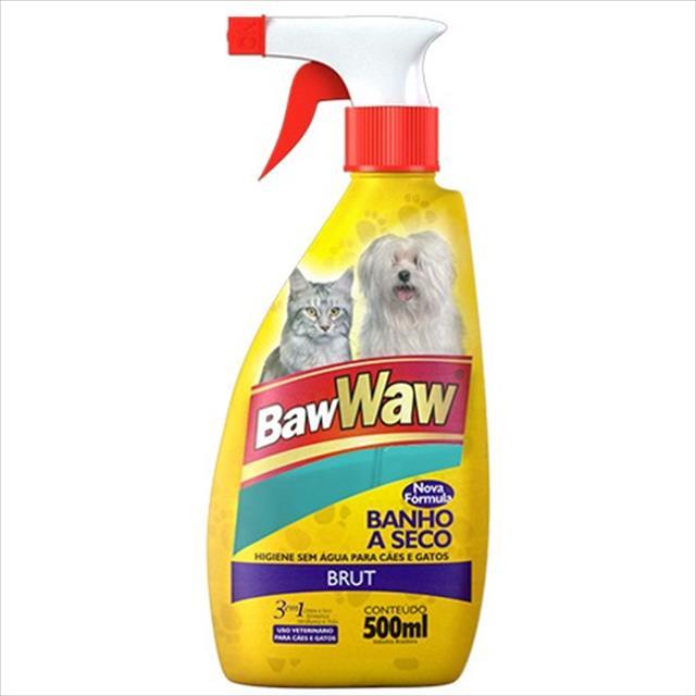 banho a seco baw waw brut - 500 ml