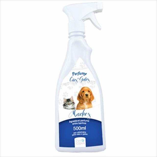 perfume pet clean machos para cães e gatos - 500 ml