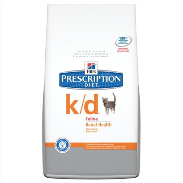 ração hills feline prescription diet k/d problemas renais - 1,81kg