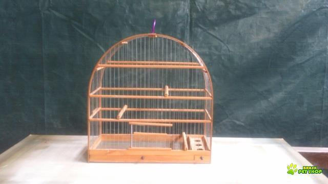gaiola madeira e arame