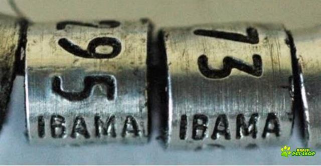 anilha trinca ferro ibama (aluminio)